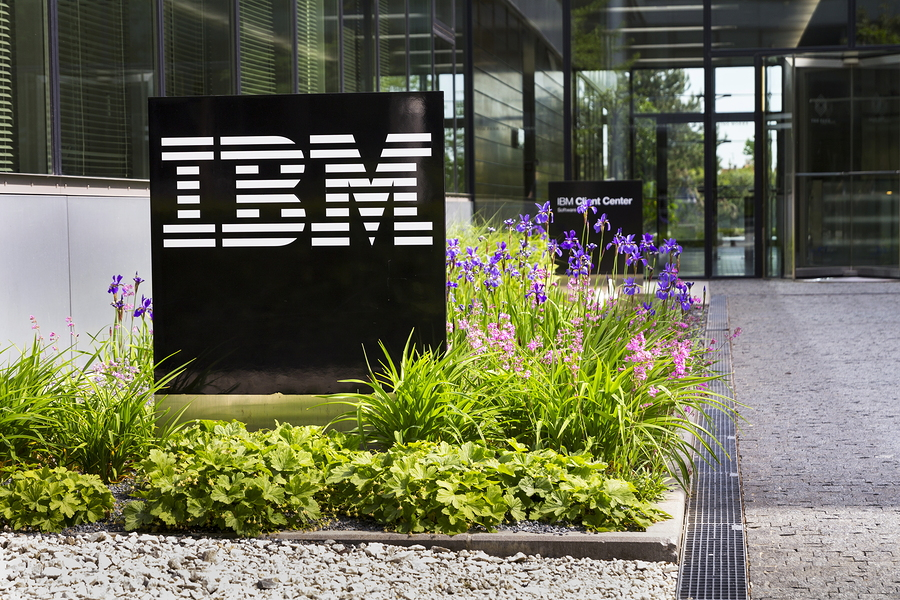 IBM reports 5 pct rise in quarterly revenue