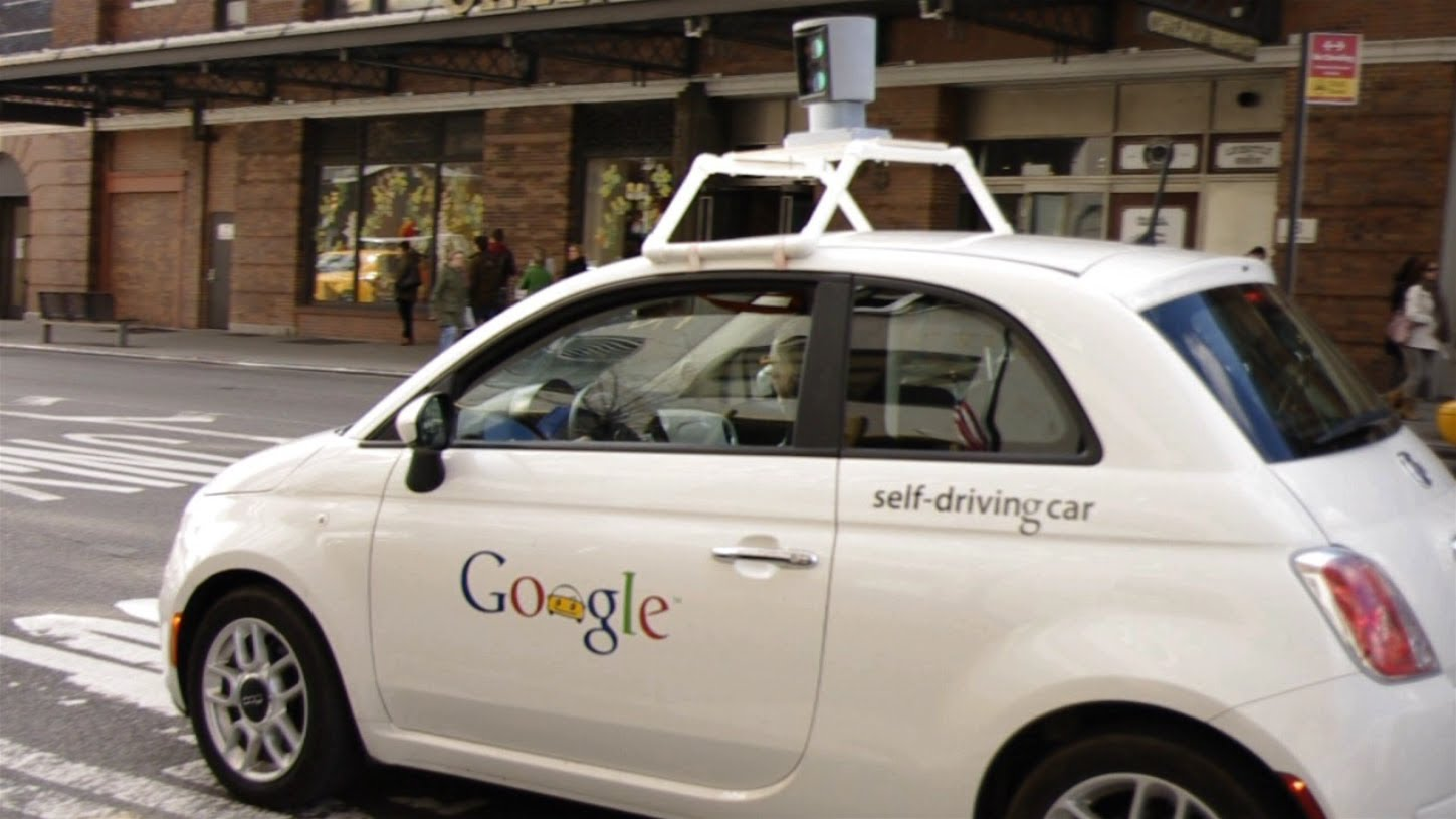 Driving Google Maps Car on