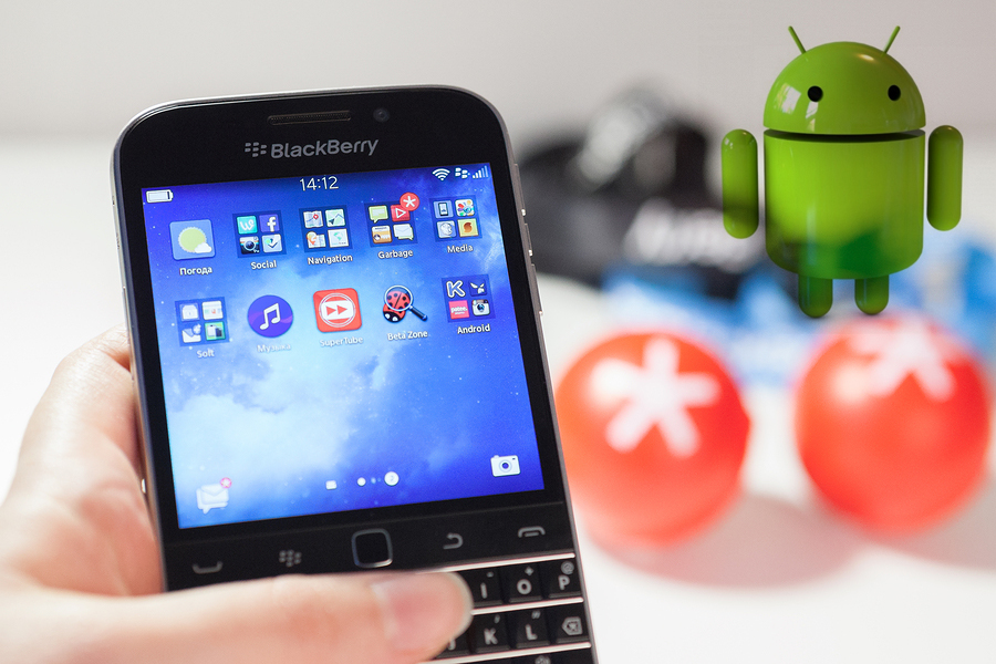 BlackBerry with Android OS, seems lucrative gambling