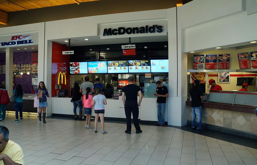 difference between kfc and mcdonalds dratt