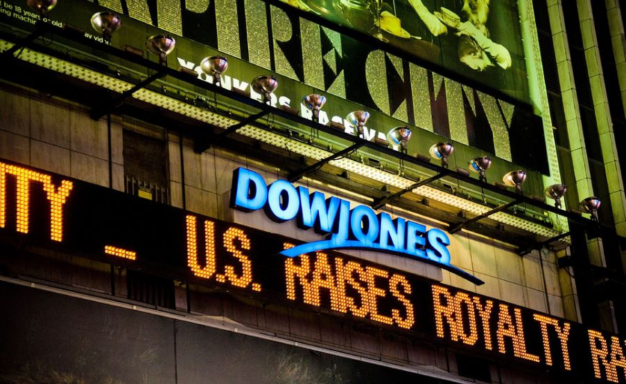Dow hits another record as stocks close higher