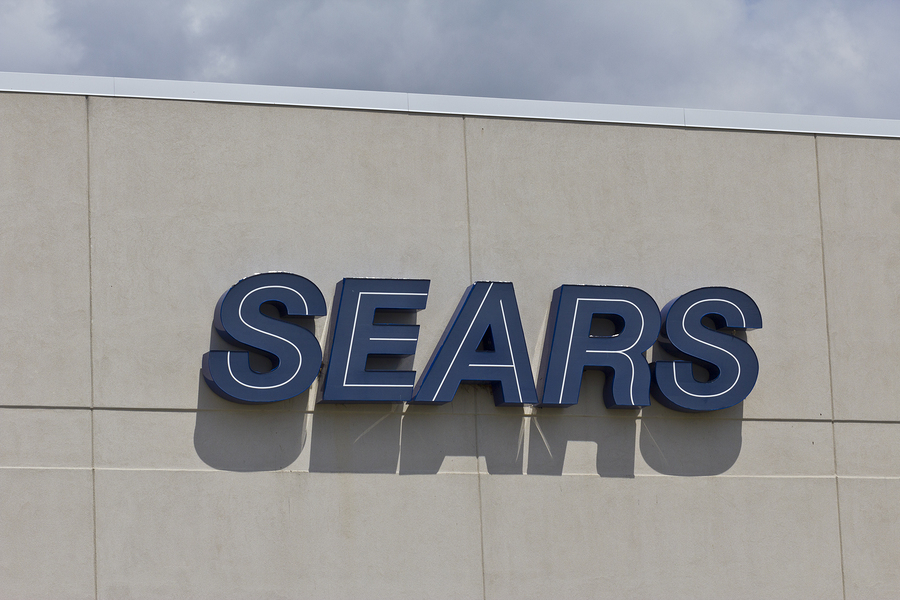 Sears Holdings Corporation's shares soar as loss narrows, sales continue to drop